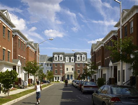 public housing site transformed  mixed income