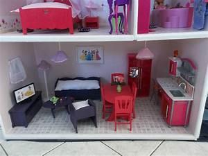Fabrication Maisons De Poupe Barbie Construction De