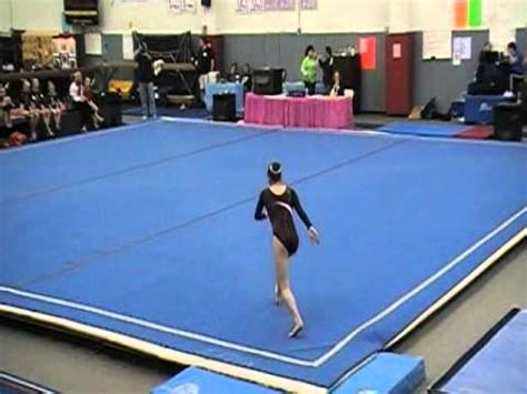 Usag Level 4 Floor Routine Scoring by Ali House Level 8 New York State Gymnastics Chionship