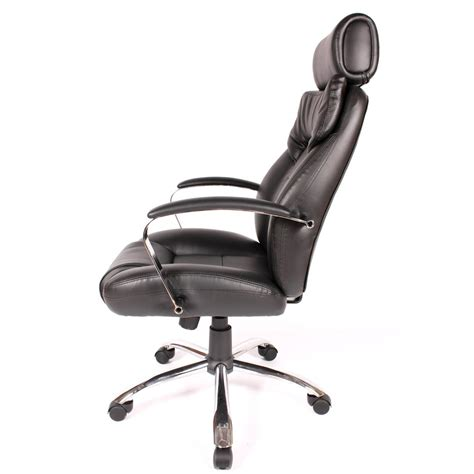 comfort products commodore ii leather chair with