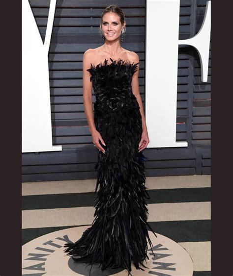 Heidi Klum Arrives For The Vanity Fair Oscar Party