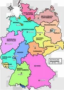 German State Map. Ancestors from Nordrhein-Westfalen ...