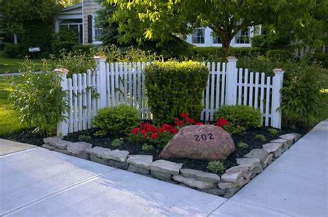 corner fence garden loveliness