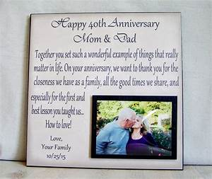 26 lovely 40 wedding anniversary gift ideas for parents With wedding anniversary gift ideas for parents