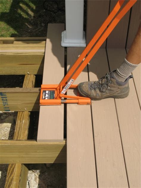 Trex Decking Spacing Tool by Tiger Jaw Deck Board Tool Homebuilding