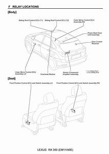 Free  2010 Lexus Rx350  Oem Electrical Wiring Diagram