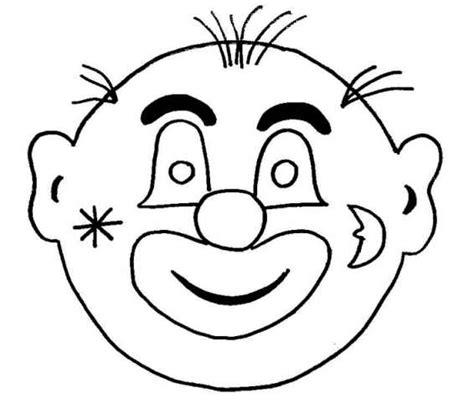 Kleurplaat Clowsgezicht by Kleurplaten Clowns Bewegende Afbeeldingen Gifs