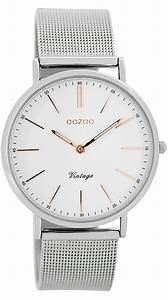Vintage Uhren Damen : oozoo c7396 vintage damen armbanduhr wei silber 36 mm pinterest uhren shop vintage damen ~ Watch28wear.com Haus und Dekorationen
