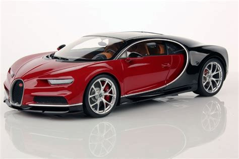 Bugatti Chiron Nocturne, Italian Red By Mr Collection