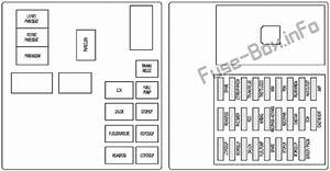 Fuse Box Diagram Cadillac Cts  2008