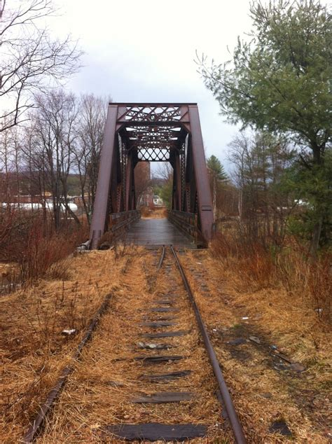 bridgehuntercom ammonoosuc rail trail amonoosuc river