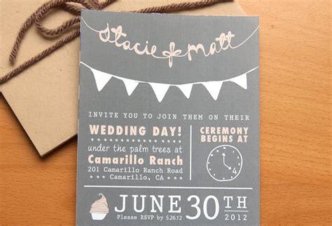 wedding invitations ideas budget wedding ideas diy invitations etsy weddings chalkboard chic onewed