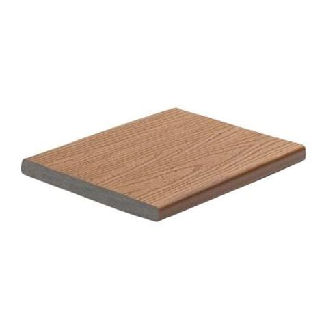 Trex Enhance Decking Home Depot by Trex Enhance 1 In X 8 In X 12 Ft Dune Capped