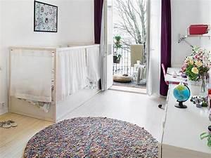 10 idees pour hacker le lit enfant kura joli place With déco chambre bébé pas cher avec thermocollant fleurs