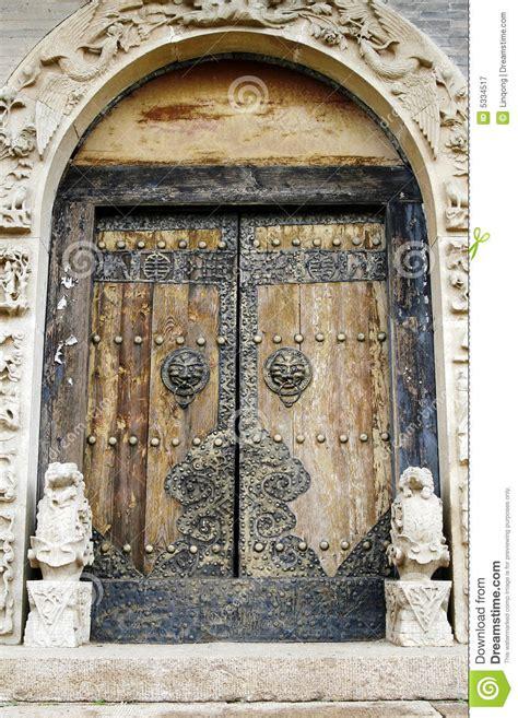 door   ancient temple stock image image  culture