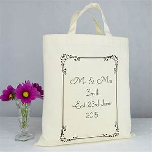 personalised 39mr and mrs39 wedding gift bag by andrea fays With gift bags for weddings