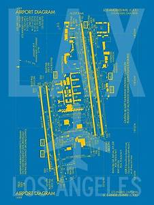 Duvet Size Chart Canada Quot Lax Los Angeles Airport Diagram Quot Posters By Yhmdesigns