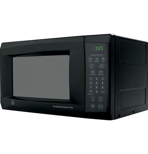 ge  cu ft capacity countertop microwave oven jesbj ge appliances