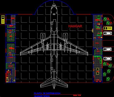 hangar largeaircraft  autocad cad   mb