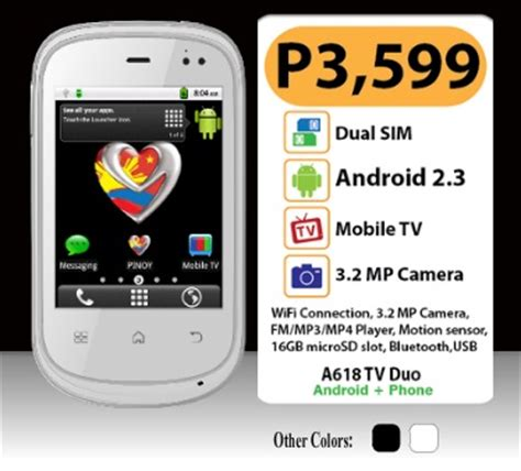 tv on my phone my phone a618 tv duo android phone gadgets and tech ph
