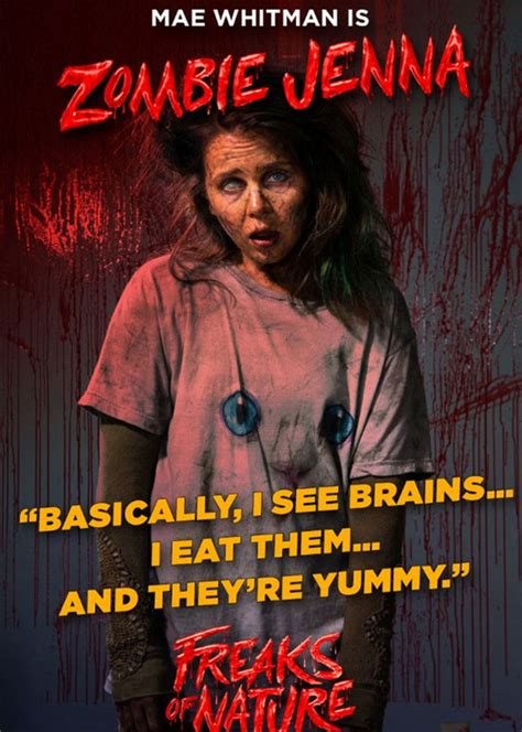 nature freaks mae whitman film movie zombies imdb horror jenna vampires salvo