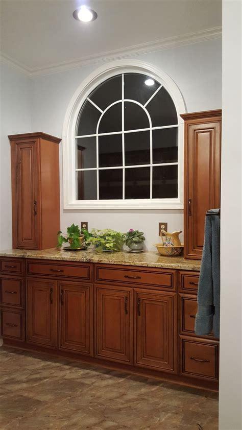 Diamond Whiskey Black Maple cabinets (Lowe's) Yellow