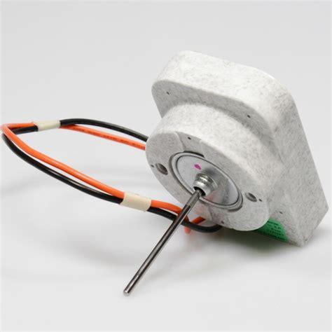 ge wrx refrigerator evaporator fan motor ac dc
