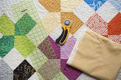 Binding Quilt Bind Fold Double Using Quilting
