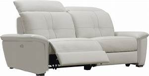 canape relax cuir blanc With canape cuir avec relax