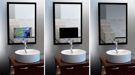 Mirror Tv For The Ultimate Vanity