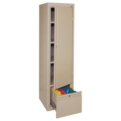 tall single door cabinet sandusky lee single door storage cabinet 17 quot x 18 quot x 64