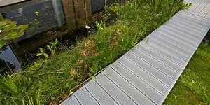 poser une magnifique terrasse de jardin en un rien de With wonderful creer une allee de jardin 17 fabrication dune terrasse