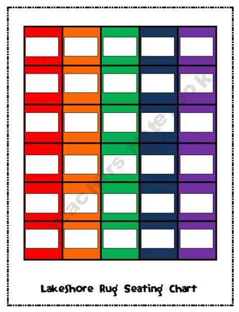 lakeshore classroom designer lakeshore rug seating chart great for subs