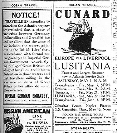 Why Did Germany Sink The Lusitania by Sinking The Lusitania An Act Of Mass Murder By The