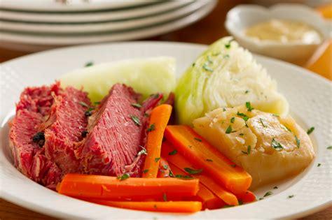 corned beef and cabbage corned beef and cabbage recipe dishmaps