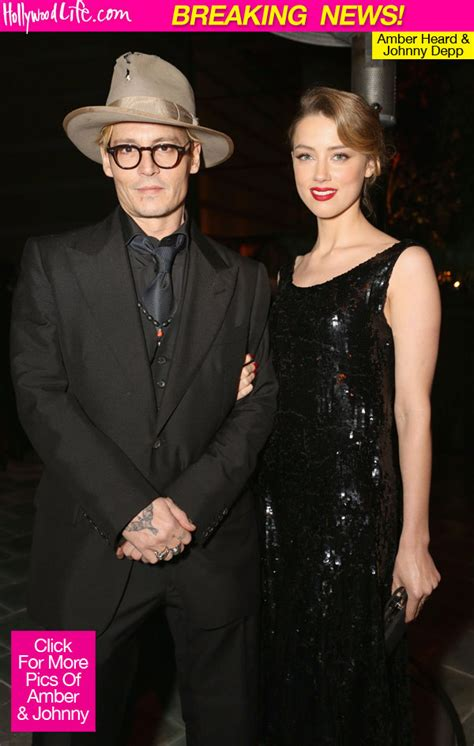 Johnny Depp & Amber Heard Engaged — Hollywood Couple To ...
