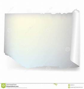 Torn White Paper Vector Stock Image - Image: 28339741