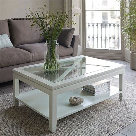 The square wood coffee tables available on the site are made of different materials such as wood, aluminum, marble, steel, glass and so on, so that you these square wood coffee tables are offered in various shapes and sizes ranging from trendy to classic ones. Square Glass White Wooden Coffee Table On Top Contemporary Modern Simple Mandara Minimalist ...