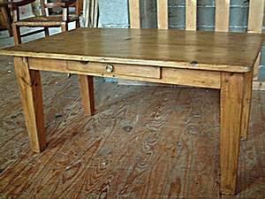 Table Basse En Pin : table basse ancienne en pin tiroir en fa ade antiquites ~ Teatrodelosmanantiales.com Idées de Décoration