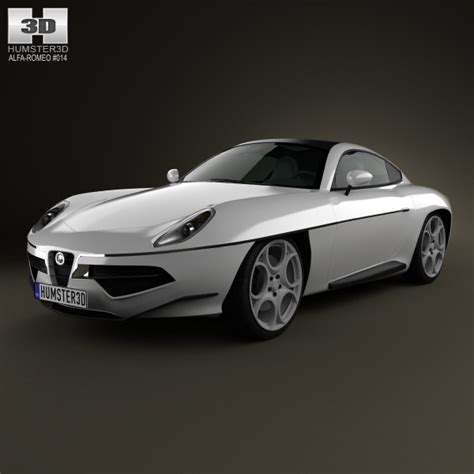 Alfa Romeo Touring Disco Volante by Alfa Romeo Disco Volante Touring 2013 3d Model Max Obj 3ds