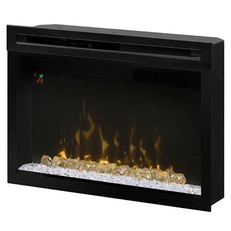 dimplex electric fireplace insert dimplex 33 in multi xd in contemporary electric
