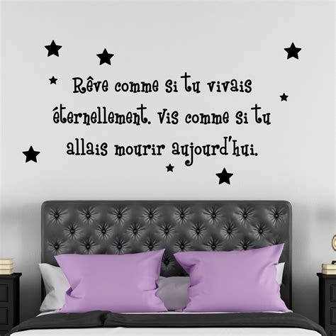 sticker citation chambre sticker citation chambre sticker citation chambre with