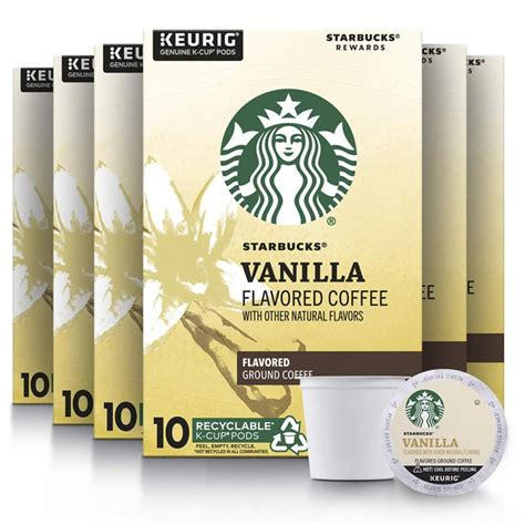 Instant coffee products contain powdered coffee derived from brewed coffee beans that instantly dissolve in water. Starbucks Flavored K-Cup Coffee Pods — Vanilla for Keurig ...