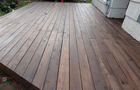 restaining a deck behr how to build a beautiful platform deck in a weekend