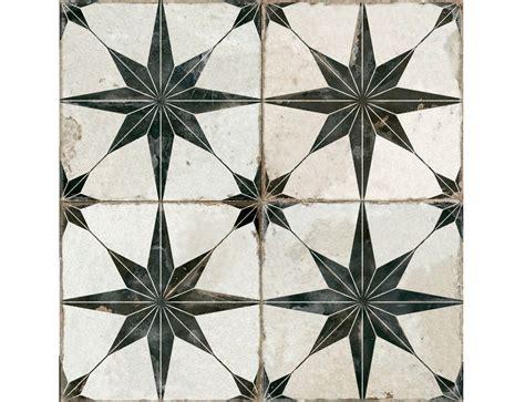 Otto Star Black Decorative Tiles  Stone Superstore