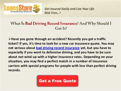 Best Place To Get Insurance For Drivers - get cheap auto insurance for bad driving records best