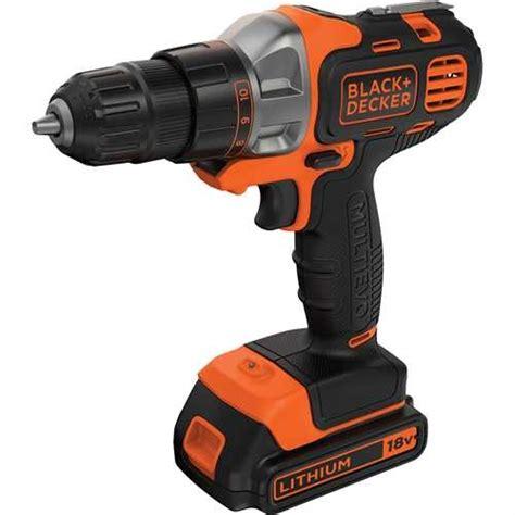 black decker mt218kb accu boormachine multi tool 18 v 1 5 ah li ion toolsxl