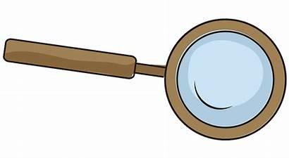 Lupa Clipart Vergrootglas Glass Magnifying Creazilla Janscollege