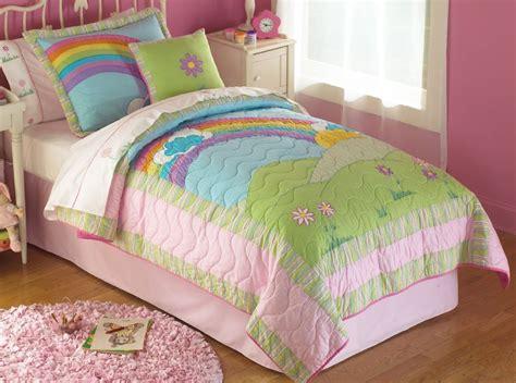 rainbow colored bedding video