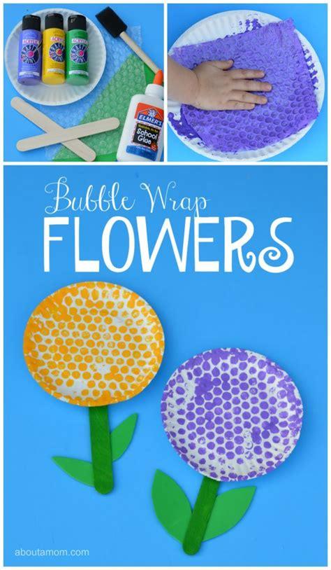 fun springtime flower craft  kids  paper plates